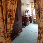 dressing room in the four poster suite