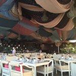 Sequoia Restaurant decorated for Ramada Iftar
