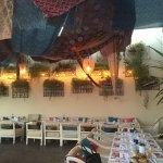 Sequoia Restaurant decorated for Ramadan Iftar