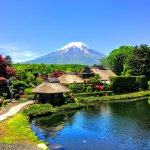 Mt Fuji and Oshino Hakkai The World Heritage