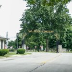 Entrance cemetery
