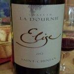 At La Bouteuille sur la table - lovely wine!