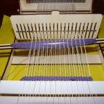 Loom weaving workshop
