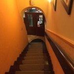 Treppe zur ersten Etage