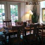 breakfast dining room, overlooking the garden