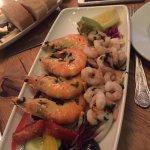 Delicious juicy prawns!