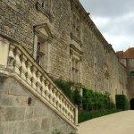 Vue de la façade Renaissance, exceptionnellement bien conservée