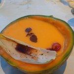 hotel hosts an awesome vegan dinner once a month! eet smakelijk!