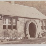 An old photo of the Forge at nearby Ford