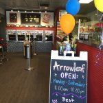 Arrowleaf has been renovated. We no longer do food grill however, we have a new addition to our