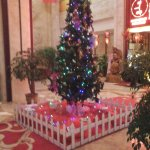 The lobby - Christmas preparations!