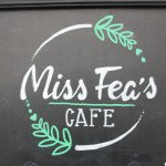 Look out for the cafe logo and sign!