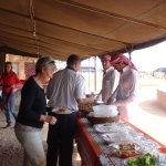 Lunch at Jabal Camp