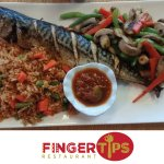 Fried Rice and Fish