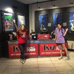 Tmz tour with Ashley