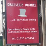 Brasserie Brunel is the restaurant of the Royal Hotel