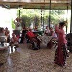 The Javanese dance at Pendopo Ndalem