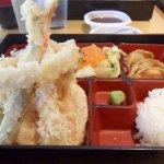 yummy tempura bento box