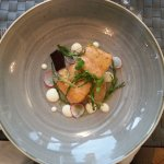 Salmon and beetrot