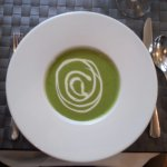 Pea and something soup