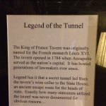Legend of the tunnel in Starbucks