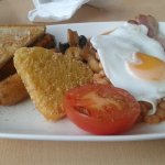 Breakfast full English worth £2.95 not worth £4.95