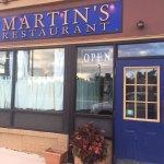 Front Door to Martin's