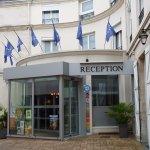 Eingang Hotel de l'Europe