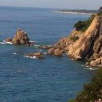 vue sur la mer du jardin de lloret del mar