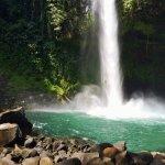 Waterfall hike in La Fortuna!