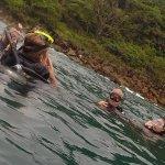 Dernières instructions avant la plongée