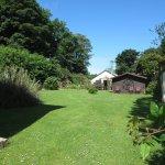 Rear garden Priskilly