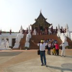 The temple is great. Well organize surrounded with green tress and flowers. It is a beautiful pl