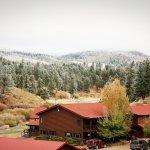 Snow on Lodge