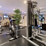 Fitness Area at Fleming's Hotel Muenchen-City