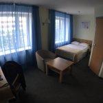 Неожиданно отличный отель на 3*!!! Чистый удобный номер, в ванной есть биде! вот это точно прият