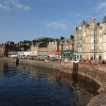 The waterfront in Oban.