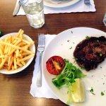 Yummy Ribeye Steak & Fries