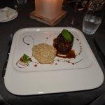 Filet de boeuf d'Australie grillé, risotto
