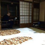 Double room with tatami mats