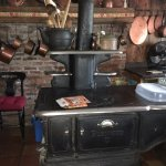 solid fuel oven in the family kitchen