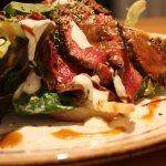 Fresh vegetables_grilled beef