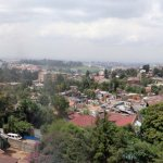 View of Addis from roof terrace