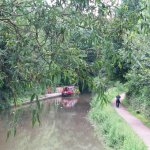 Chesterfield Canal near Hotel.