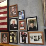 Display of local veterans
