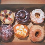 Maple Bacon | Chocolate Lovers' | Cherry Pie | Apple Almond Fritter | Key Lime | Cinnamon Sugar