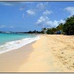 Nearby beach - Simpson bay beach