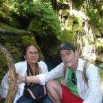 Con mi esposa Liuva Naupay, Rancho Querete, Sancti Spiritus, Cuba