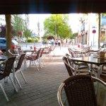 Exterior,terraza y aperitivo