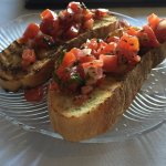 Bruschetta was amazing!